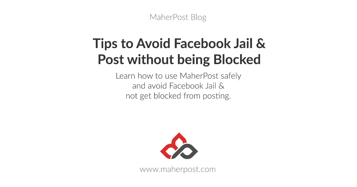 Tips to Avoid Facebook Jail (And Post without being Blocked!)