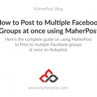 Post to Multiple Facebook Groups at Once