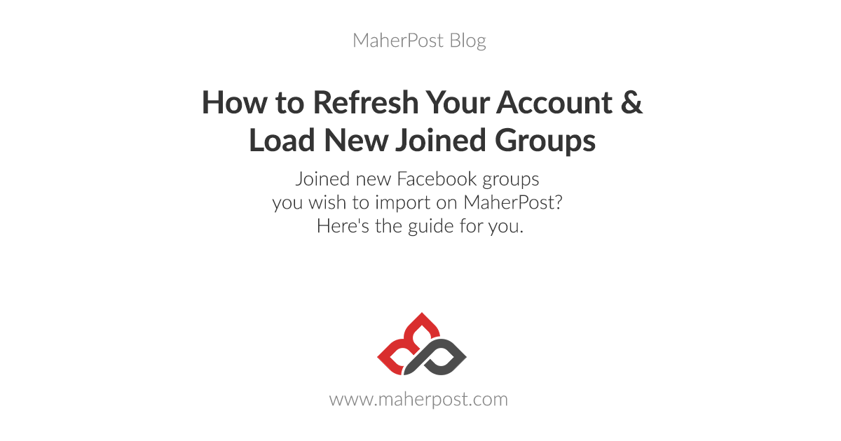 How to Refresh Your Account and Load New Joined Groups