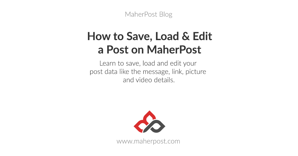 How to Save, Load and Edit a Post