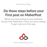 Do These Steps Before Your First Post On Maherpost